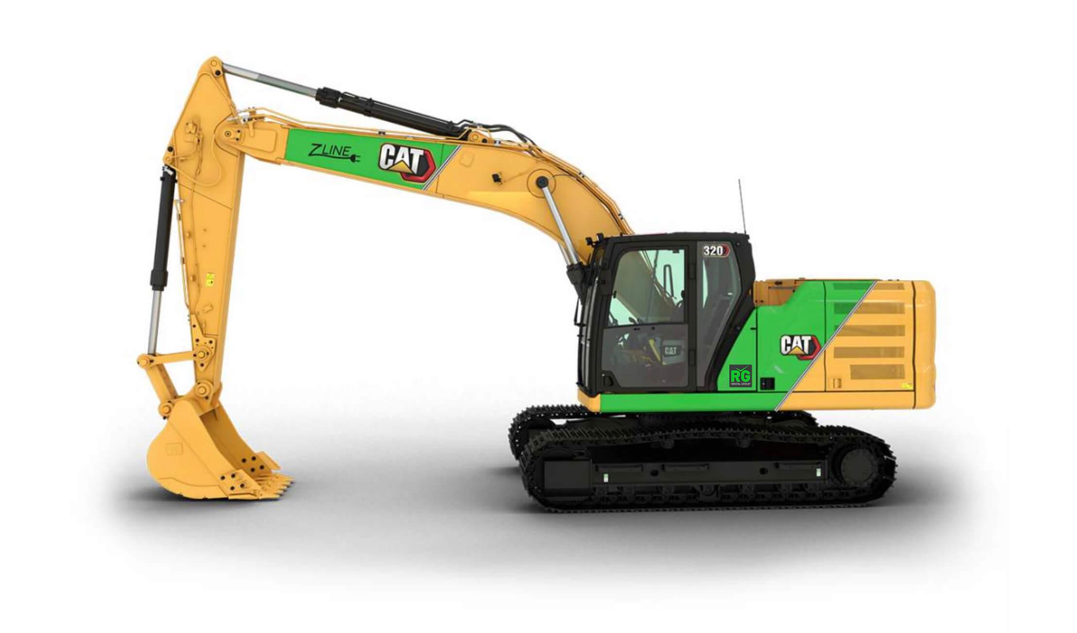 Cat Z-line elektrisk graver